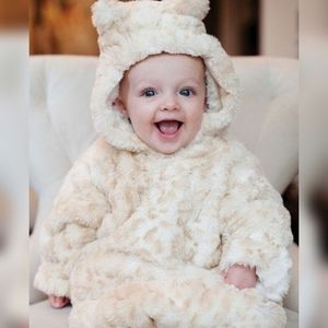 Donna Salyers Fabulous Fur Leopard Baby Bunting